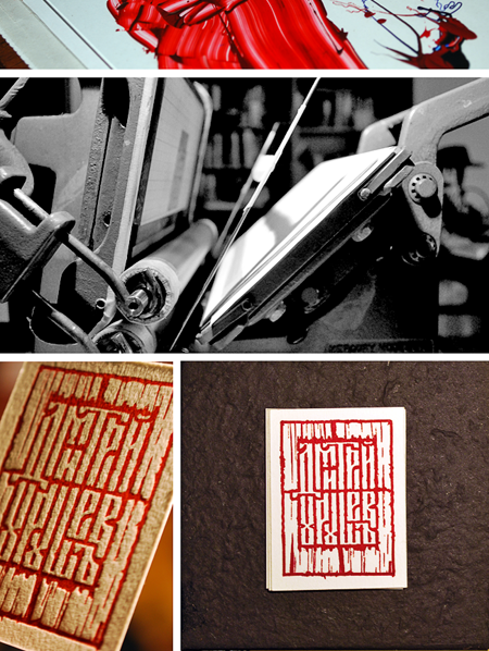image: Resulting letterpress print