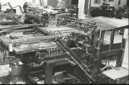 Great Pieces Of Turn The Century Equipment For Weekly Newspaper And Job Printing Market One Press Is 1898 Other 1912 Anti Static Piping On