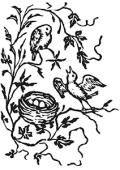 image: Birds in nest No.2
