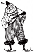 image: Clown mandolin