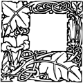 image: Woodcut initial square