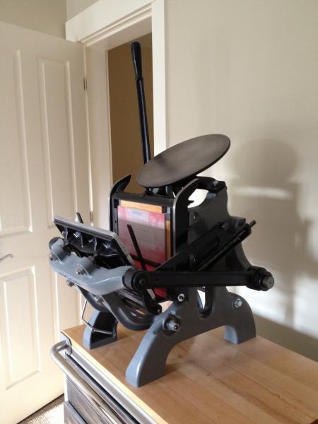 CP Pilot 65x10 Tabletop Press