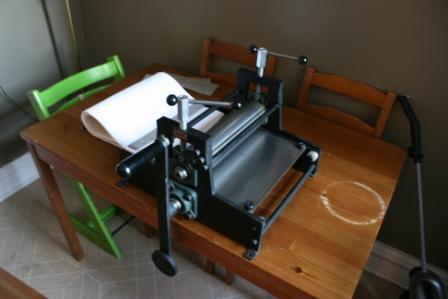 Table Top Etching Press | Briar Press | A letterpress community