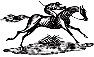 image: Race horse