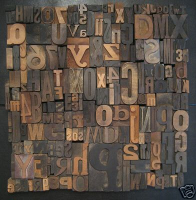 cleaning preserving old wood type briar press a letterpress community. Black Bedroom Furniture Sets. Home Design Ideas